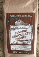 williams sonoma pumpkin choc chunk