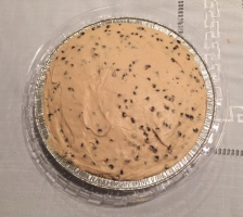 peanut butter choc chip pie